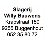 Slagerij Willy Bauwens